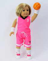 Basketball Uniform For American Girl Dolls