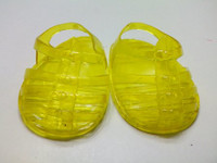 Yellow Jelly Sandals For Your American Girl Doll