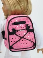 Light Pink Sequin Backpack