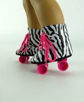 Zebra Roller Skates