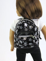 Sequins & Star Backpack For Your American Girl Doll