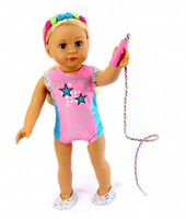Star Gym Outfit For American Girl Dolls