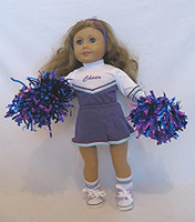 Purple Cheer Uniform