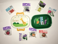 Assorted Doll Food With Giraffe Case For American Girl Dolls
