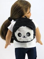 Panda Backpack for Your American Girl Doll