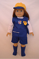 Daisy Uniform for 18 inch American Girl Dolls