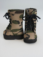 American Girl Doll Camouflage Boots