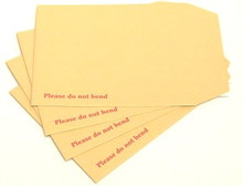 "7.5"" x 9.5"" Board Backed Envelopes (Box 125)"