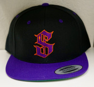 Black/Purple SnapBack