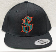 Black/Red/Green SnapBack