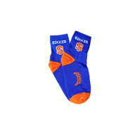 Blue and Orange Socks