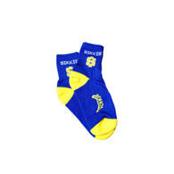Blue and Yellow Socks