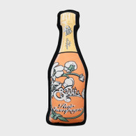 Rose Rair Champagne Bottle Pillow