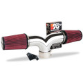 Corvette Dual Flow Intake System - Chrome : 1997-2004 C5 / Z06