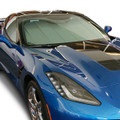 2014 C7 Corvette Insulated Folding Windshield Sunshade NEW