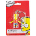 Bart Simpson 2.5 inch Bendable Keychain