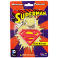 Superman Logo 2.7in Bendable Key Chain