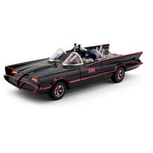 """10"""" Batmobile with Bendable Figures - Classic TV Series"""