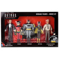 "The New Batman Adventures ""Heroes Set"" - Batman, Robin, Batgirl, Gordon, Alfred"