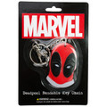 Deadpool's Face Bendable Key Chain