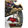 Batman v Superman Logo Bendable Key Chain