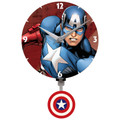 Captain America Mini Wall Clock