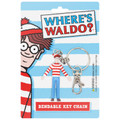 "Where's Waldo? 3"" Bendable Key Chain"