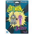 "Batman & The Joker 3"" Bendable Pair"