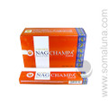Golden Nag Champa Stick Incense 15 grams