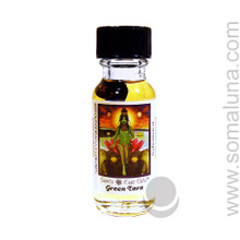 Green Tara Goddess Oil