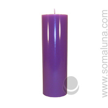 Royal Purple 9.5 x 3 Pillar Candle