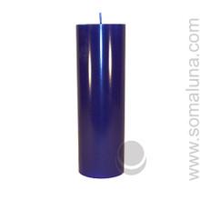 Midnight Blue 9.5 x 3 Pillar Candle