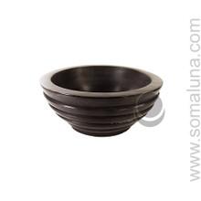 Black Soapstone Incense Burner & Smudge Pot