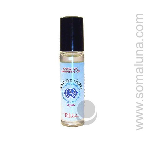 Third Eye Chakra Anointing Oil