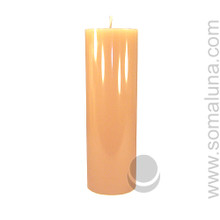 English Bone 9.5 x 3 Pillar Candle