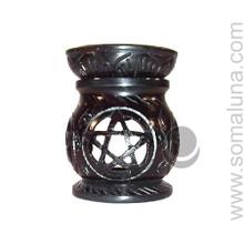 Black Pentacle Aroma Lamp