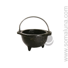 Rough Cast Iron Cauldron, small