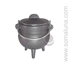 Quality Iron Cauldron, 3.5 inches