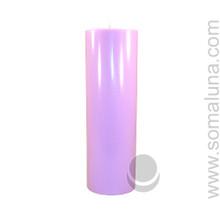 Lush Lavender 9.5 x 3 Pillar Candle