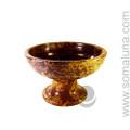 Pedestal Soapstone Charcoal Incense Burner