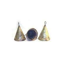 Rustic Tin Cone Bell