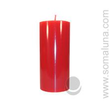 Romance Red 6.5 x 3 Pillar Candle