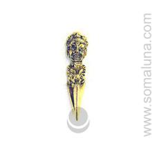 Tibetan Brass Phurpa, 3 inch