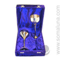 Silver Pentacle Chalice Giftset