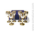 Six Pentacle Chalice Set
