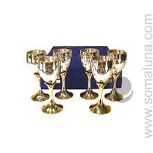 Six Pentacle Chalice Set