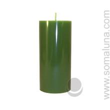 Tropical Green 6.5 x 3 Pillar Candle