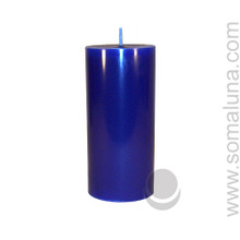 Midnight Blue 6.5 x 3 Pillar Candle