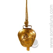 Mongolian Copper Caravan Bell, 4.25 inch