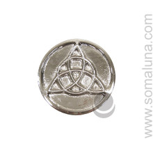 Triquetra Circle Altar Tile, small